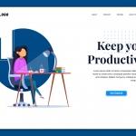 Productive – Landing Page