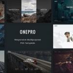 OnePro – Creative Multipurpose PSD Template