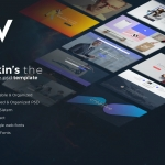 Wilkins | Website Builder Muti-Purpose PSD Templat