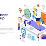 Startup Isometric Concept