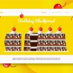 Birthday Cake – Banner & Landing Page