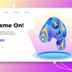 Game On – Banner & Landing Page