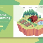 Home Farming – Banner & Landing Page