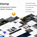 Klamp – Creative Multipurpose Sketch Template