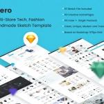 Xero – Multi-Store Tech, Fashion Sketch Template